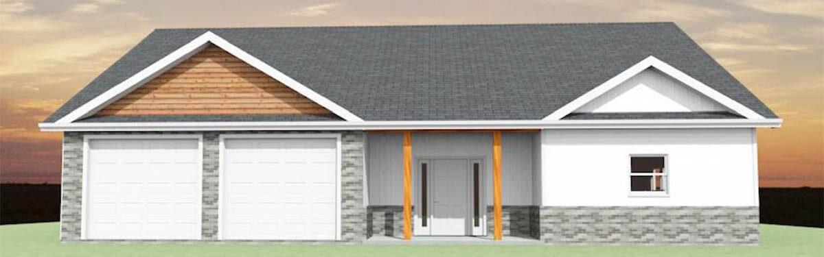 Custom Home Builders Ellettsville, IN - The Morning Glory - exterior