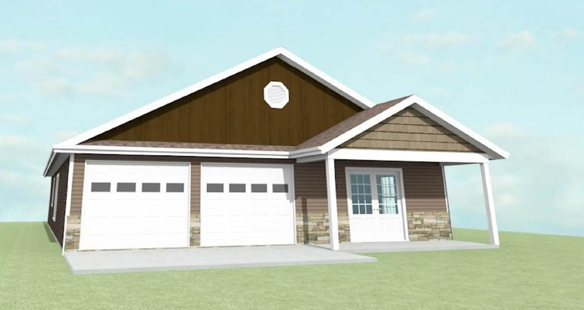 Ellettsville Homes - The Daisy - exterior