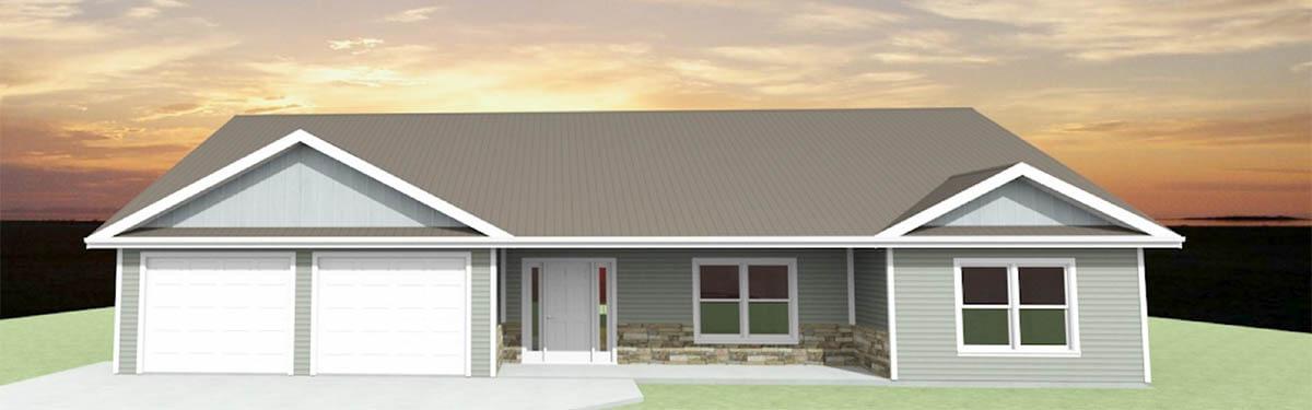 Ellettsville, IN Custom Home Builders - The Oak - exterior
