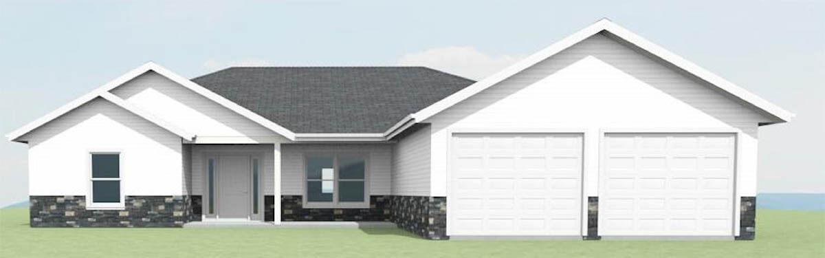 Ellettsville, IN Custom Homes - The Maple - exterior