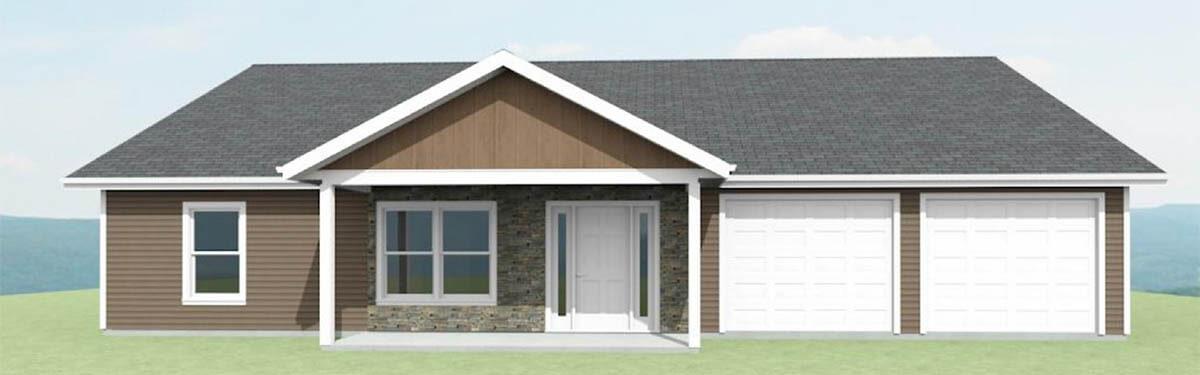 Ellettsville, IN New Home - The Redbud - exterior