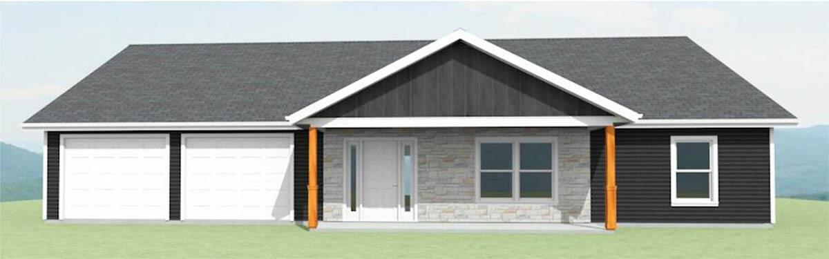 Homes in Ellettsville - The Poplar - exterior